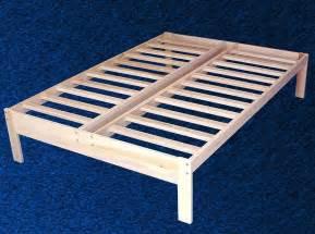 New solid wood platform bed frame full double size ebay