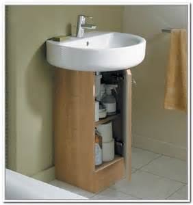 Storage Cabinet For Under Pedestal Sink 17 Best Ideas About Under Sink Storage On Pinterest