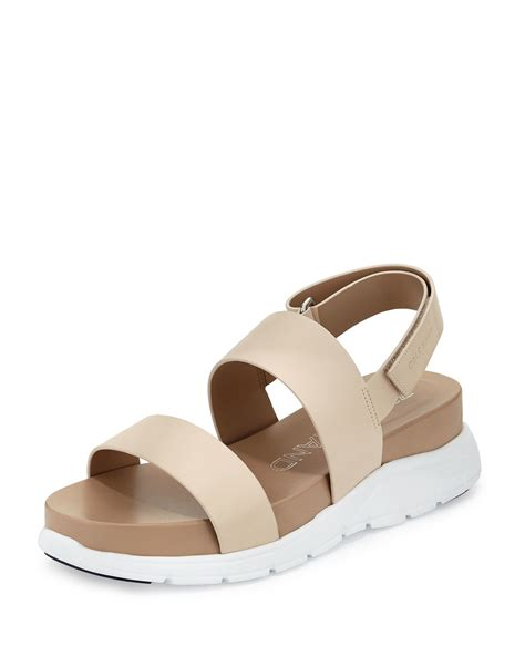cole haan sandals cole haan zerogrand leather slingback sandal in
