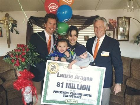 Publishers Clearing House Winners 2016 - 1 million winner laurie aragon got her prize just in time pch blog