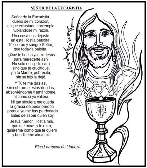 oracion para ministros de eucaristia el rinc 243 n de las melli oraci 243 n se 241 or de la eucarist 237 a