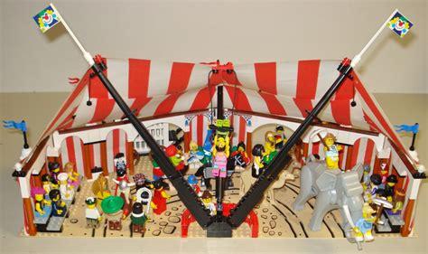 Lego Circus Show 3 lego ideas the big top circus tent comes to town