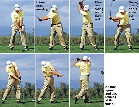 basic golf swing great golf swings