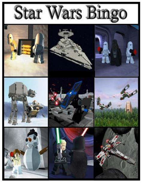 printable lego star wars bingo cards star wars printable bingo cards subway art printables