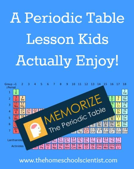 periodic table for children how to your own periodic table for children gallery