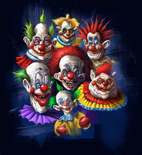killer klowns killer klown t shirt design by grimbro on deviantart