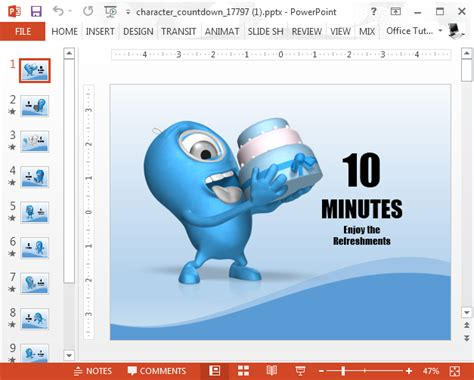 powerpoint countdown timer template animated 10 minute countdown powerpoint template
