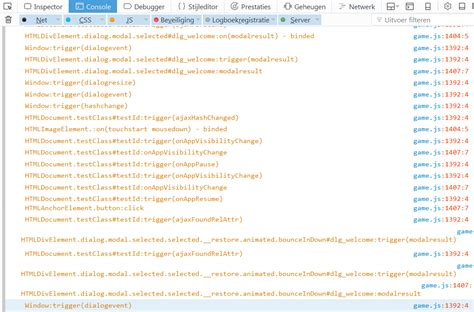 jquery console log javascript how do you log all events fired by an element