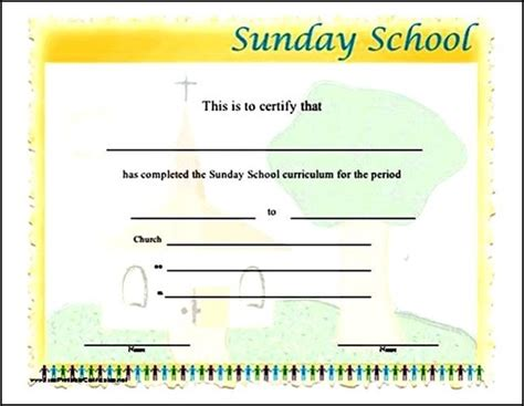 school certificate templates free search results for attendance awards to print