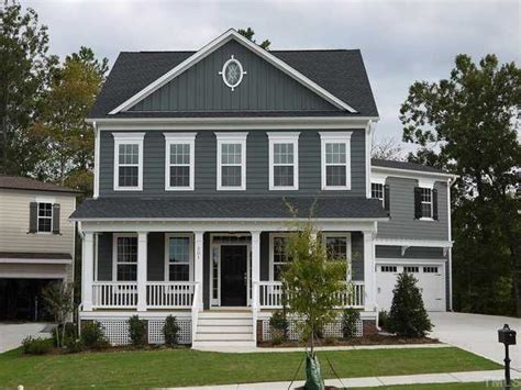 blue gray house color grey blue new home exterior color white trim is a must