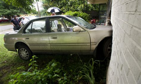 car hits house car hits house on moulton st news decaturdaily com