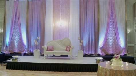 How To Make Indian Wedding Backdrop   Toronto Wedding