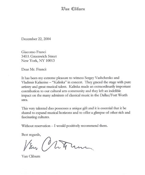 Writing A Recommendation Letter For Your Student reference letter template for student scholarship 10 best