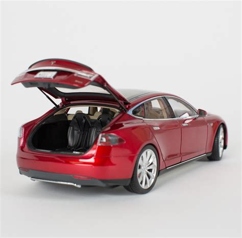 Tesla Model Cars Tesla Motors Is Now Selling 1 18 Scale Model S Diecast