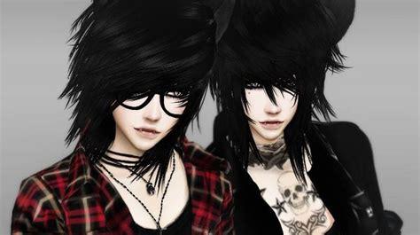 sims 2 male emo hair sims 4 punk tumblr