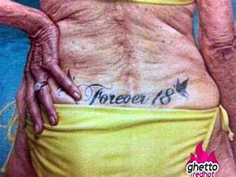 new tattoo looks wrinkled this is what your tatt will look like in 40 years 14 old