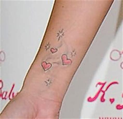 katie price wrist tattoo price on wrist