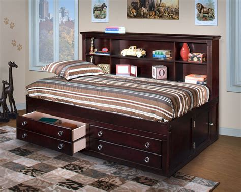 lounge bed full victoria espresso full lounge bed from new classics 05