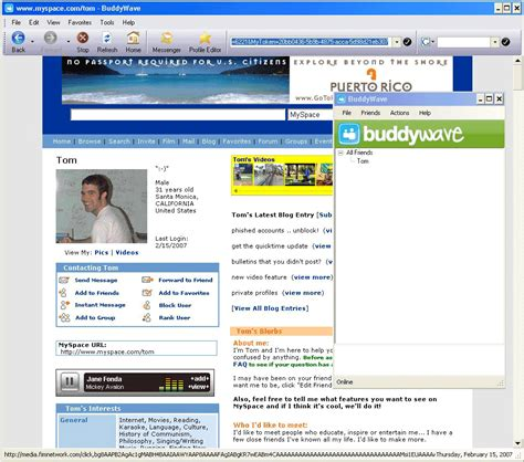 new myspace focused browser launched techcrunch