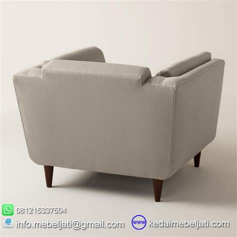 Sofa Minimalis Single sofa modern minimalis terbaru model vintage single kayu jati