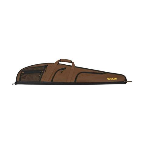 Hoozler Gun Bag Drak Brown allen daytona gun bag rifle brown black 46 quot