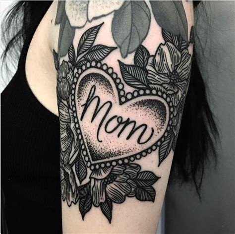 mom heart tattoo best 25 ideas on purple ink