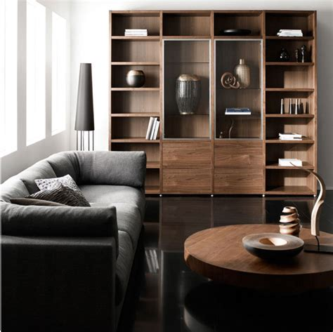 Living Room Awesome Living Room Design With Cozy Gray Sofa Black Wooden Furniture Living Room