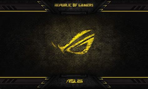 asus wallpaper orange asus gaming republic logo โปรเจกต น าลอง pinterest