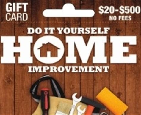 the pitfalls and dangers of the home improvement gift card