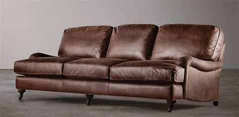 restoration hardware roll arm sofa reviews seating collections rh