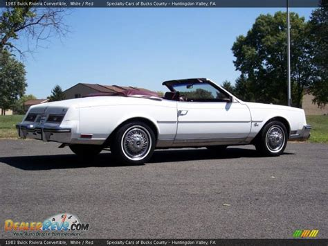 1983 buick riviera convertible 1983 buick riviera convertible white photo 13