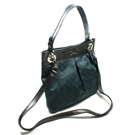 coach swing bag coach ashley signature lurex hipster charcoal crossbody