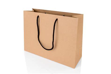 large landscape kraft paper gift bag with rope handles 250
