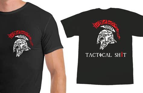 T Shirt Tactical Pratama Spartan tactical spartan shirt with name logo on the back