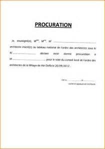 pdf modele de lettre de procuration