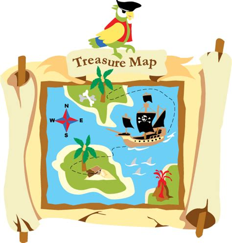 Childrens Wall Murals pirate treasure map mural paint by number children s mural