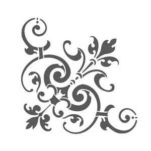 wall template stencils corner stencil reusable template for wall diy decor