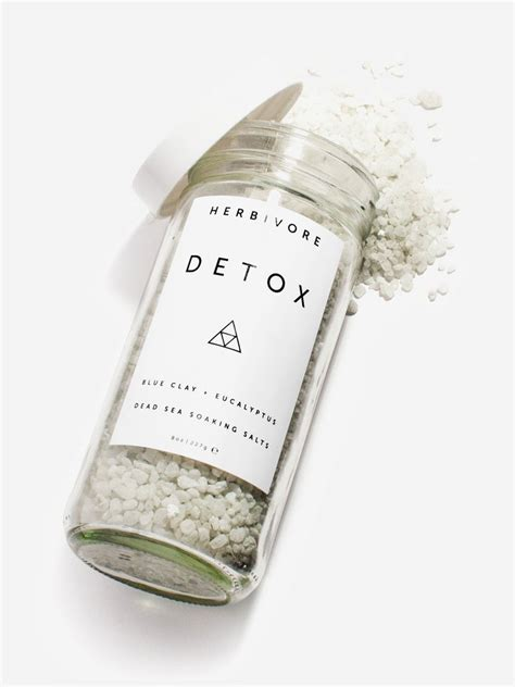 Detox Bath Salts Boots by Herbivore Botanicals Detox Bath Salts Scarpa