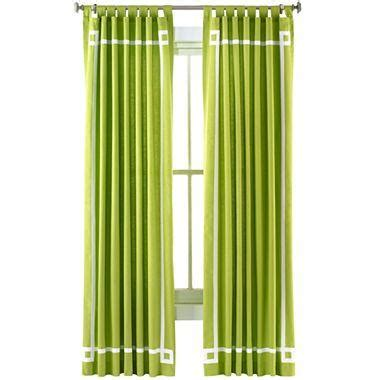 Jonathan Adler Curtains Happy Chic By Jonathan Adler Canvas Curtain Panel I Jcpenney