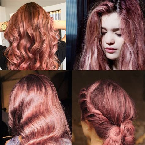 rose gold hair dye dark hair trend alert rose gold hair repeat possessions blog