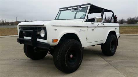 classic ford bronco for sale 1967 early classic ford bronco no reserve