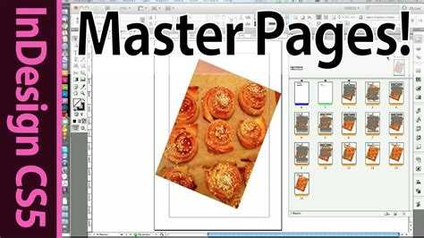 tutorial indesign book layout indesign cs5 tutorial layout with master pages part 4
