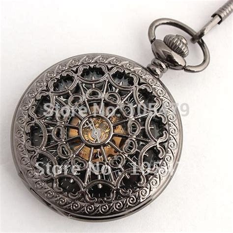 antique style handmade mechanical fob watches mens luxury