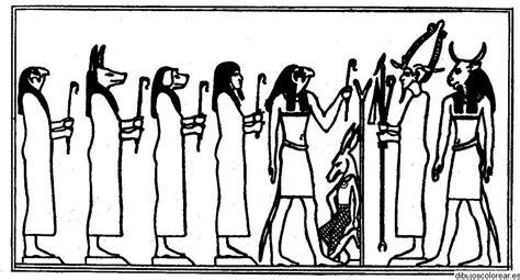 imagenes egipcias dibujos dibujos de dioses egipcios para colorear imagui