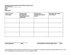 5 Year Career Plan Template by Best Photos Of Professional Career Development Template