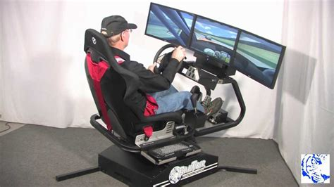 Racing Simulator Chair Hydraulic Bluetiger Motion Racing Simulator 12 12 Mp4