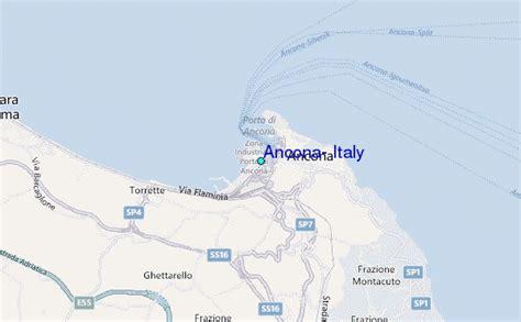 map of ancona italy ancona italy tide station location guide