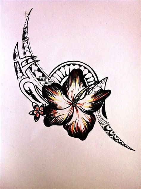 tribal flower tattoo pictures in with the flower more than anything tribal