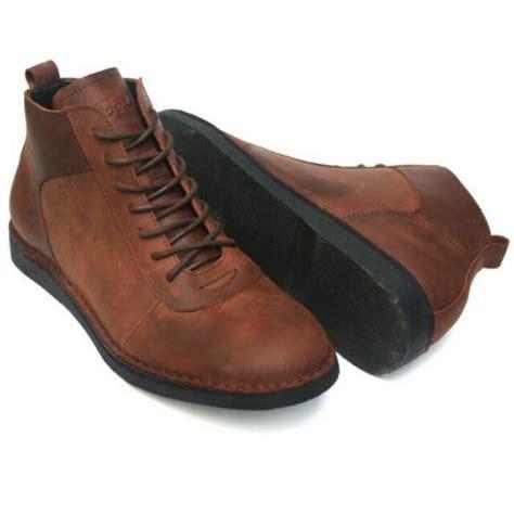 Sepatu Kulit Pria sepatu kulit asli pria lecies brown shopee indonesia