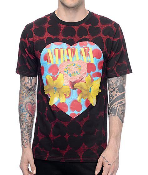 Tshirt Band Nirvana nirvana shaped box t shirt at zumiez pdp